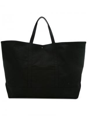 Объемная сумка-тоут Astraet. Цвет: чёрный