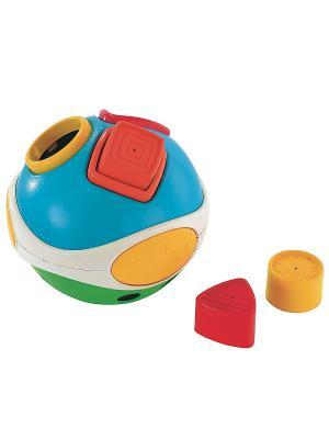 Игрушка-сортер Мяч ELC. Цвет: белый, голубой, зеленый
