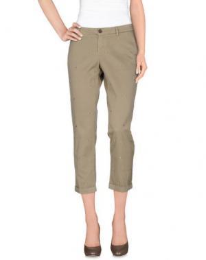 Повседневные брюки FAY. Цвет: хаки