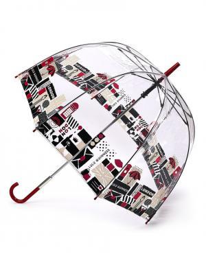 Зонт-трость Лондон  by Fulton Lulu Guinness. Цвет: красный