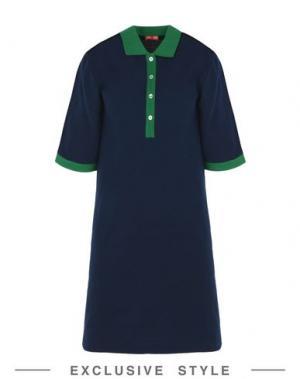 Короткое платье ARTHUR ARBESSER x YOOX. Цвет: темно-синий