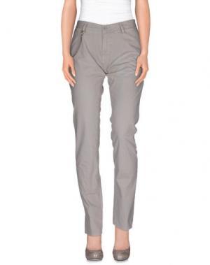 Повседневные брюки MODFITTERS. Цвет: серый
