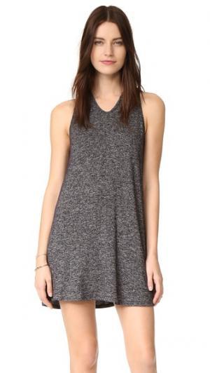 Мини-платье с небольшим овальным вырезом Riller & Fount. Цвет: пестрый