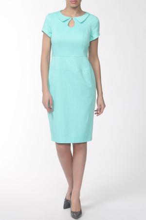 Платье E.LEVY. Цвет: ментол