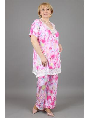 Костюм NadiN. Цвет: розовый, молочный