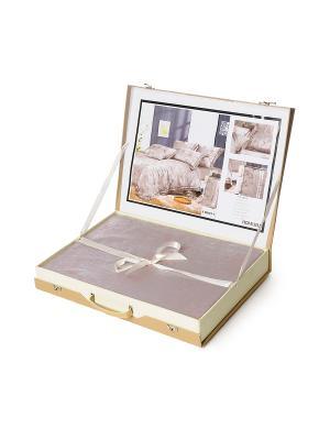Комплект постельного белья 4 предмета HAMRAN. Цвет: светло-коричневый, коричневый