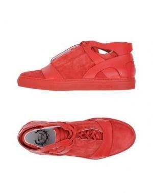 Высокие кеды и кроссовки DEL TORO. Цвет: красный