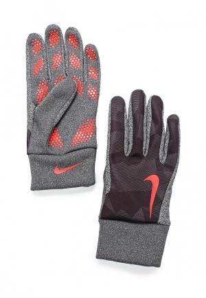 Перчатки футбольные Nike. Цвет: серый