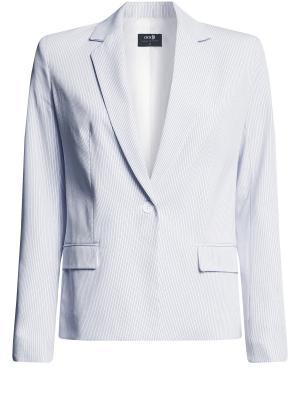 Пиджак Oodji. Цвет: белый