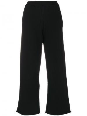 Широкие брюки Simon Miller. Цвет: чёрный