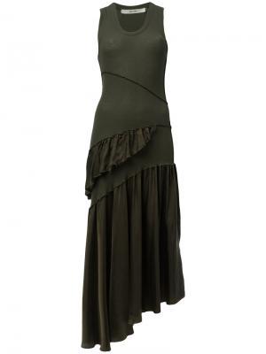 Платье Dachi Damir Doma. Цвет: зелёный