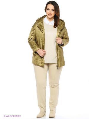 Куртка FREYA. Цвет: золотистый