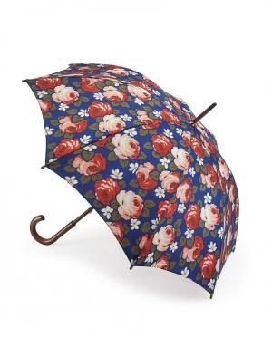 Зонт-трость Розы  by Fulton Cath Kidston. Цвет: синий
