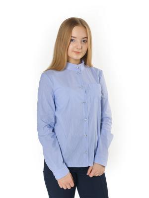 Блузка Enfant sage. Цвет: голубой