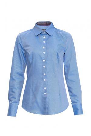 Рубашка 155676 Msw Atelier. Цвет: синий