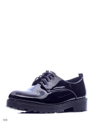 Туфли Camidy. Цвет: черный