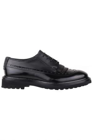 Туфли Barracuda. Цвет: черный