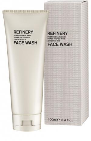 Очищающее средство для лица (с эссенциальными маслами) Refinery Face Wash Aromatherapy Associates. Цвет: бесцветный