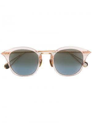Солнцезащитные очки Gare De Lyon Ahlem. Цвет: розовый и фиолетовый