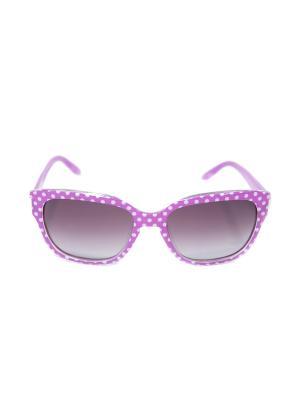 Солнцезащитные очки Mitya Veselkov. Цвет: фиолетовый