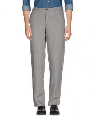 Повседневные брюки GANESH. Цвет: серый