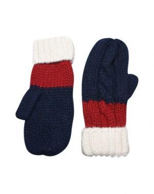 Перчатки TOMMY HILFIGER DENIM. Цвет: темно-синий