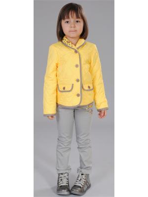 Куртка Fleur de Vie. Цвет: желтый