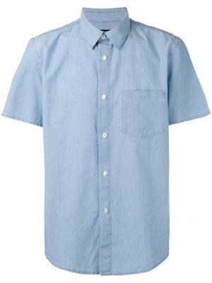 Shortsleeve shirt A.P.C.. Цвет: синий