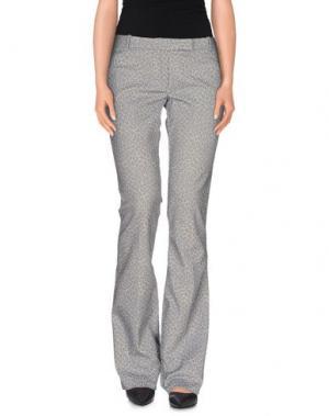 Повседневные брюки TERESA DAINELLI. Цвет: грифельно-синий