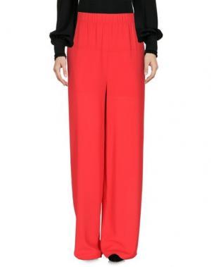 Повседневные брюки ANGELA MELE MILANO. Цвет: красный