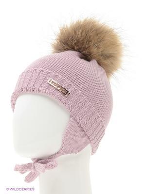 Шапка Solorana. Цвет: сиреневый, бледно-розовый, серебристый