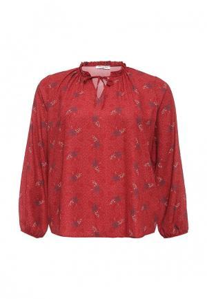 Блуза Love My Body. Цвет: бордовый