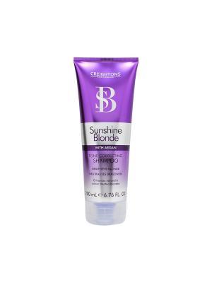 Шампунь для восстановления и защиты цвета светлых волос CREIGHTONS. Цвет: фиолетовый