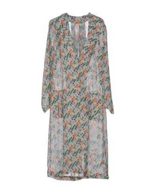 Легкое пальто KRISTINA TI. Цвет: слоновая кость