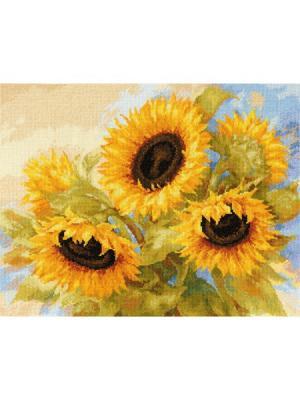 Набор для вышивания Солнечные мечты 40х30 см , Алиса. Цвет: желтый, зеленый, коричневый