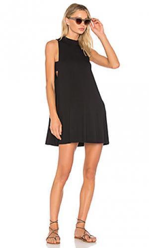 Платье-майка kim LA Made. Цвет: черный