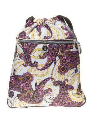 Рюкзак Infiniti. Цвет: белый, коричневый, сиреневый, розовый, желтый