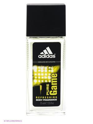 Освежающая парфюмированная вода для мужчин adidas Pure Game 75 мл. Цвет: прозрачный