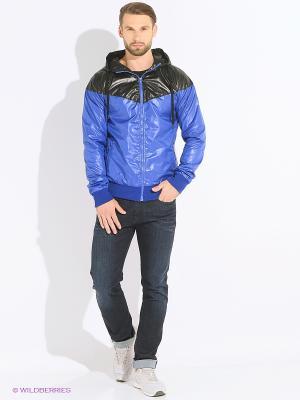 Куртка Sixth june. Цвет: синий
