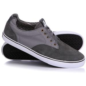 Кеды кроссовки низкие  Tim Pewter/Black Dekline. Цвет: серый