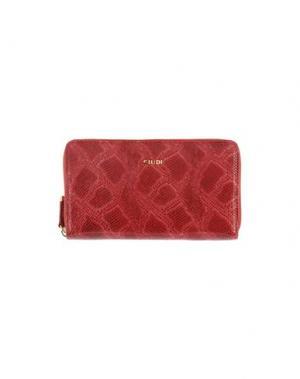 Бумажник GIUDI. Цвет: красный