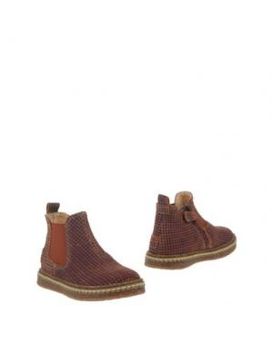 Полусапоги и высокие ботинки OCRA. Цвет: ржаво-коричневый