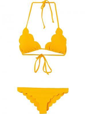 Бикини Broadway String Marysia. Цвет: жёлтый и оранжевый