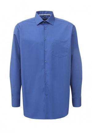 Рубашка Seidensticker. Цвет: синий
