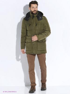 Куртка INCITY. Цвет: хаки