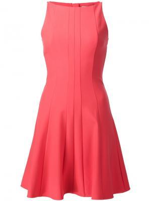 Расклешенное платье Elizabeth And James. Цвет: розовый и фиолетовый