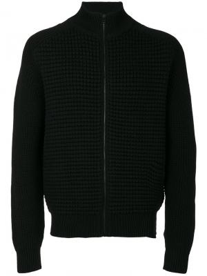 Zipped cardigan Belstaff. Цвет: чёрный