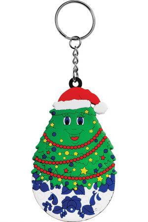 Брелок Ёлка Mister Christmas. Цвет: зеленый