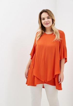 Туника Averi. Цвет: оранжевый