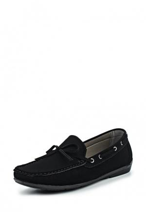 Мокасины WS Shoes. Цвет: черный